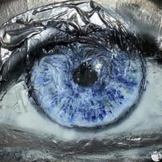 GUARDATI Autore: Federica Petri #sefiart #arte #pittura #painting #art #blue #eyes Petra, Waves, Painting, Outdoor, Outdoors, Painting Art, Paintings, Painted Canvas, Outdoor Living