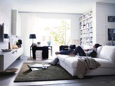 Ikea kivik white