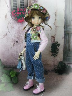 6 Pc. Outfit For MSD Kaye Wiggs, Lasher, Macario Bo Bergemann and Dollstown BJD.