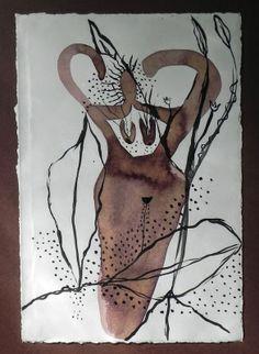 Stephanie's Studio: Gran Bwa self-portraiture as a route to the lwa.