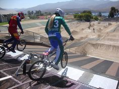 Brasil BMX Olympic Team at Olympic Training Center in San Diego