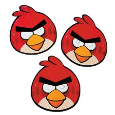 Angry Birds Paper Masks - OrientalTrading.com