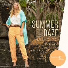 Daze print and silk kaftan worn with gorgeous hand cut out top