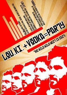 LOUKI + VODKA = PARTY