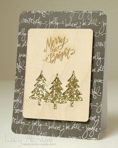 Lucy's Cards by Lucy Abrams: MORE Studio Calico Cards christmas