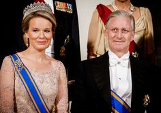 Nov 28, 2016 - The Dutch State visit dinner off King Philippe & Queen Mathilde of Belgium to The Netherlands.