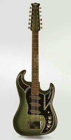 1965 Burns Double Six. #guitar #12strings http://www.pinterest.com/TheHitman14/music-instruments/