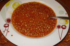 healthy  greek vegetarian lentil soup