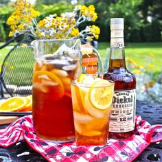 My Trip on The Whiskey Trail, Plus Recipe:  Sparkling Sweet Tea Pitcher Cocktail   The 10-Minute Happy Hour