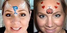Cheek Art Designs For Face Painting by Lisa Joy Young