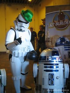 Irish Stormtrooper - R2D2 - Star Wars Online Images, Irish, Star Wars, Cosplay, Toys, Gallery, Movies, Activity Toys, Irish People