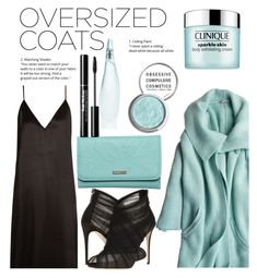 """Oversized Jackets"" by anna-belair ❤ liked on Polyvore featuring Calypso St. Barth, Raey, Dolce&Gabbana, Roxy, Donna Karan, Obsessive Compulsive Cosmetics and Clinique"