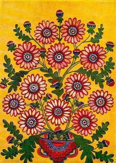 Марія Примаченко Картини Квіти миру