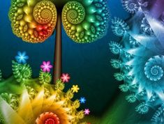 Creative Fractal art is a form of algorithmic art created by calculating fractal objects, representing the calculation result as a still images. Fractal art