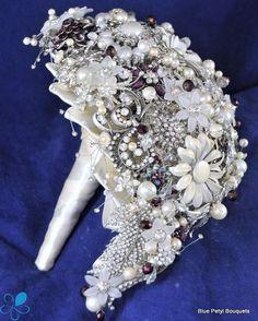 Tear-drop Brooch Bouquet