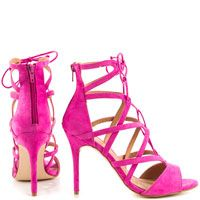 Get all tied up with these lace-up lovelies! Adorable lace up heeled sandals from JustFab.
