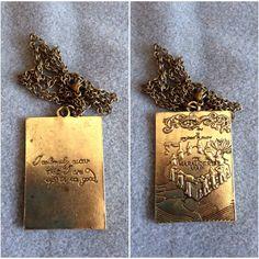 """<3 necklace """" Mappa del malandrino """" <3 8€"""