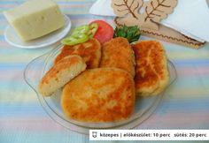 Sajtos-túrós szelet Cornbread, Snacks, Ethnic Recipes, Desserts, Food, Millet Bread, Tailgate Desserts, Appetizers, Deserts