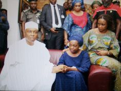 Saraki pays condolence visit to the late Adeleke family in Osun – Photos