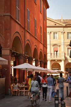 "Red Buildings - ""Bologna la Rossa — Scenes from a Red City"" by @Kate McCulley"