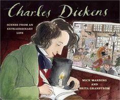 picture book biographies: Charles Dickens