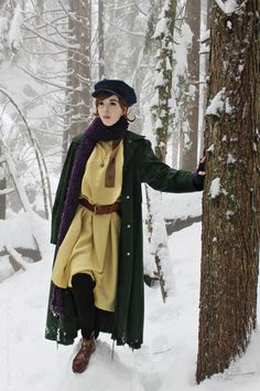 """Well, I know what's to the left. I'll be Anya the Orphan forever. But if 1 go right, maybe I could find … Who ever gave me this necklace must have loved me."" — Anastasia. Cosplay by theladysasha"