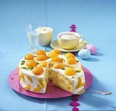 Aprikosen-Prosecco-Torte