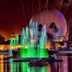 Reflections of Earth... i love EPCOT