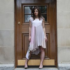 upcycled clothing . tshirt dress . forgotten whisper door pondhopper
