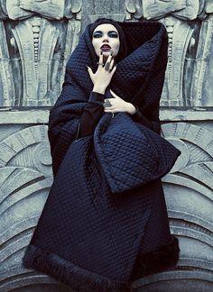 good evil fashion chris nicholls5 Garden of Good & Evil: Meagan + Gaby by Chris Nicholls for FASHION Magazine