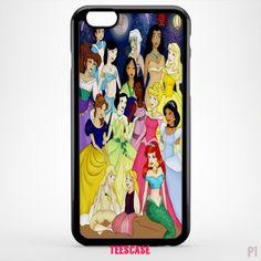 Disney Princesses, cartoon case -1528- for iPhone 7 case, iPhone 6/6S Plus, iPhone 5/5S case, HTC case, samsung galaxy case, galaxy S5/S6/S7/S8 and samsung galaxy other - TeesCase