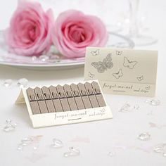 White Butterfly Seed Favors Pack