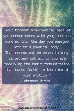 Your Inner Being is Communication With You Book Extracts, Law Of Attraction Tips, Abraham Hicks, Self Development, Motivation Inspiration, Motivationalquotes, Affirmations, Communication, Spirituality