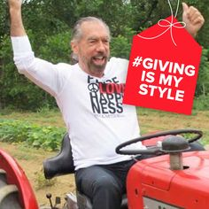 Everyone deserves to consume nutritious food. We're proud to support #GrowAppalachia in their effort to make this a reality. Join us by using #GivingIsMyStyle in your posts. We'll donate $1 to our favorite charities each time you do.