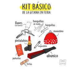 Kit básico de la gitana en feria
