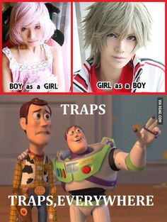 Traps Everywhere! :)