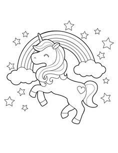 Unicorn Coloring Pages, Pokemon Coloring Pages, Cute Coloring Pages, Animal Coloring Pages, Coloring Sheets, Coloring Pages For Kids, Coloring Books, Animal Dictionary, Unicorn Pictures