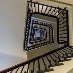 https://flic.kr/p/Hkc2ck | The Way up | One of the many Staircases of the Chile House in Hamburg  The Chilehaus (Chile House) is a ten-story office building in Hamburg, Germany. It is located in the Kontorhausviertel. It is an exceptional example of the 1920s Brick Expressionism style of architecture. This large angular building is located on a site of approximately 6,000m², spanning the Fischertwiete Street in Hamburg. It was designed by the German architect Fritz Höger and finished in…