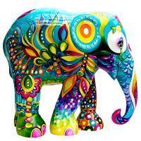 elephant parade floripa - Buscar con Google Colorful Elephant, Asian Elephant, Elephant Love, Elephant Art, Elephant Design, Elephant Sculpture, Sculpture Art, Comic Cat, Elephants Photos