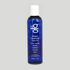 Saharan Liquid Gold is a pure argan oil rich in keratin protein and vitamin B to give your hair body, shine, health and stop frizz. #hair #haircare #beauty #hairproducts