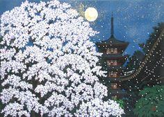 Masao Ido - Moon and Flowers