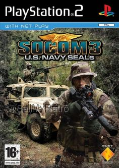 Socom U. Playstation 2, Juegos Ps2, Solo Player, Voice Chat, Us Navy Seals, Real Time Strategy, Friends List, All Games, Play Online