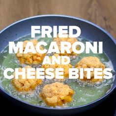 Easy Recipe Videos - Bite sized mac and cheese? How did I not know of this sooner. You'll never want plain mac and cheese again.