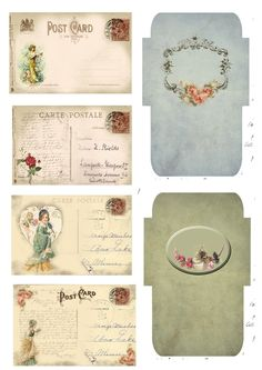 Freebies Astrid's Artistic Efforts: My Freebies. Awesome site for many printables!Astrid's Artistic Efforts: My Freebies. Awesome site for many printables! Vintage Labels, Vintage Ephemera, Vintage Cards, Vintage Paper, Vintage Postcards, Printable Labels, Printable Paper, Free Printables, Freebies Printable