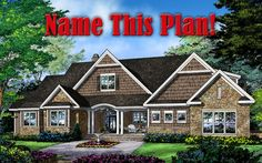 Name This Plan! Which name do you prefer for Design In Progress 1402: Emerson, Harper, or Swansea? Leave a comment here, or over on our #House #Plans #Blog http://houseplansblog.dongardner.com/name-plan/