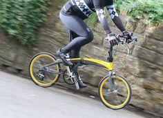 Verge X30h la bici plegable más rápida del mundo
