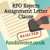 An Rpo Debtor Has Rejected An Assignment Letter Clause Lettering
