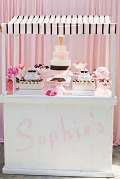 This would be awesome for a little girl's party... specifically one i know.