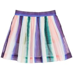 No Added Sugar - Girls Striped Cotton Skirt | Childrensalon