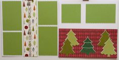 O'Christmas Tree 12x12 Premade Scrapbook Page by JensMemoryMakers on Etsy